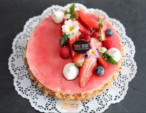 Erdbeer Quarktore